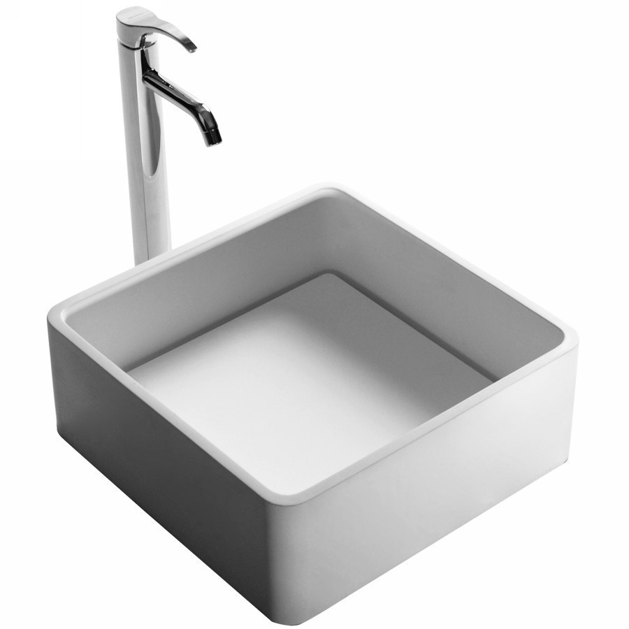 China Wholesale Websites Composite Acrylic Solid Surface Trough Sink