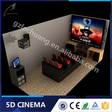 Christmas Promotion 5D Cinema Theater and Equipment