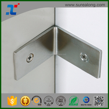 Customized decorative furniture steel l shaped countertop brackets metal corner braces for wood