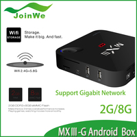 MXIII Android 4.4 Amlogic S812 Quad Core Google TV BOX Support OTA 2.4/5GHz Dual Wifi android tv box original MXIII-G