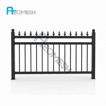 Made in Guangzhou Professional Factory Aluminum Playground Fence