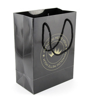 With hand can shopping or packaging gift paper bag