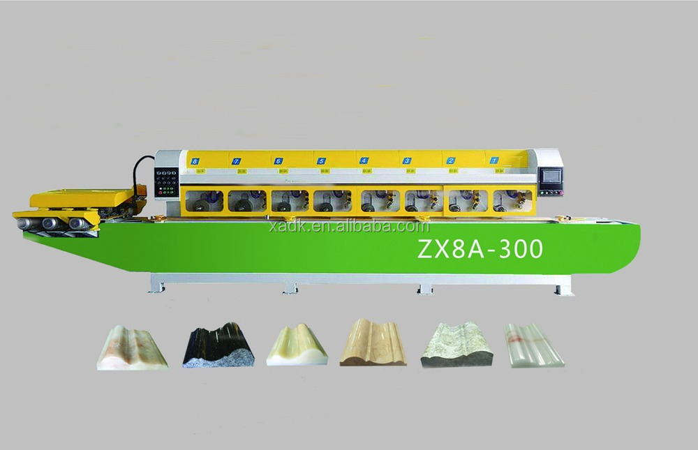 Molding Line Machine, line polishing machine, line profile machine