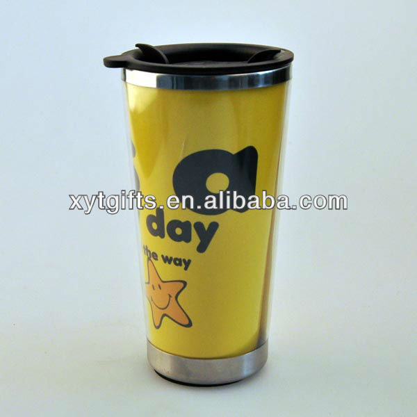 Wholesale Travel Mug With Photo Insert For Travelling