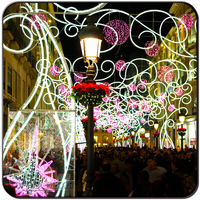 IP65 Outdoor Street Christmas Decoration Led