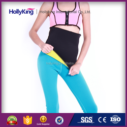 Massage running material for waist belt