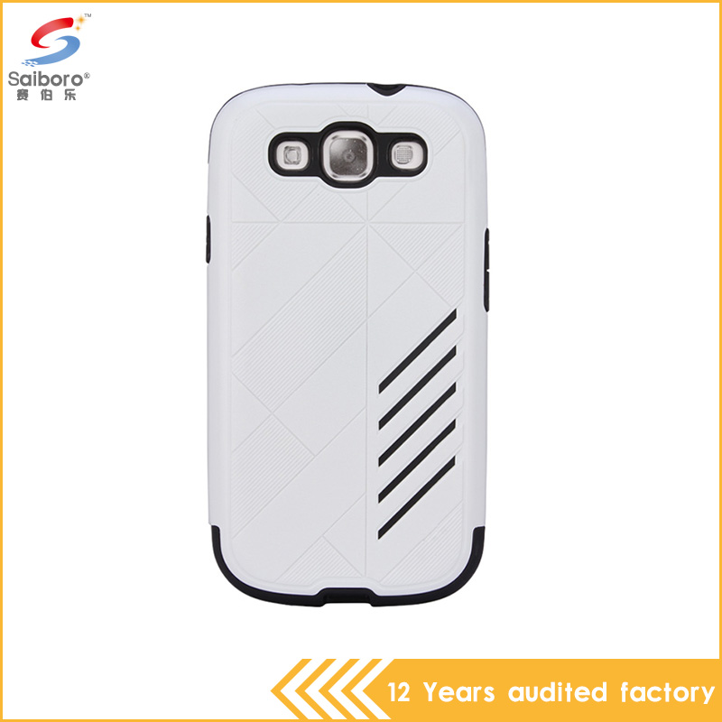low price white color tpu pc china mobile phone cover for samsung galaxy s3 case