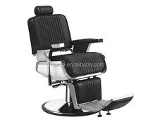 Luxury Stainless Steel Barber Chair Antique Barber Chair