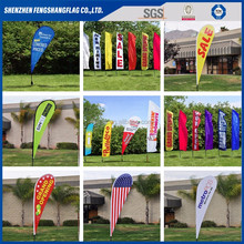Factory Directly Double Sided Digital Printed Outdoor Event Branded Advertisement Promotional Custom Sail Flags