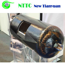 Type 3 Fully Wrapped 80L Carbon Fiber Reinforced Aluminum Lined Composite CNG Cylinder for Vehicle