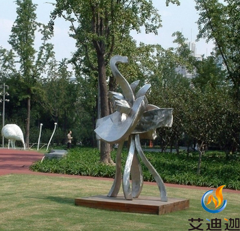Stainless steel abstract sculpture shanghai DIYI