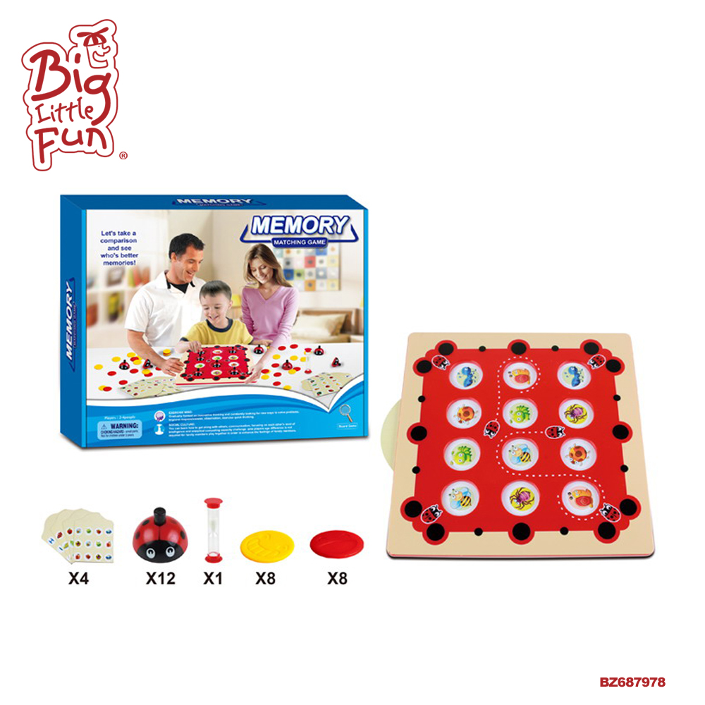 High quality hot sale Memory game matching children educational toy
