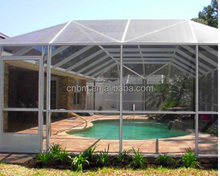 2017 hot sale 18x14 pool and patio screening fiberglass material
