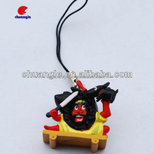 Poly Resin Material keychain, OEM keychain supplier