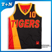 cheap kid european sublimated reversible basketball jerseys