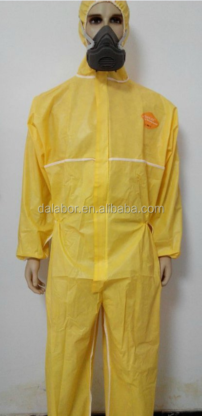 Manufacturer Wholesale Acidproof Chemical Protective Clothing