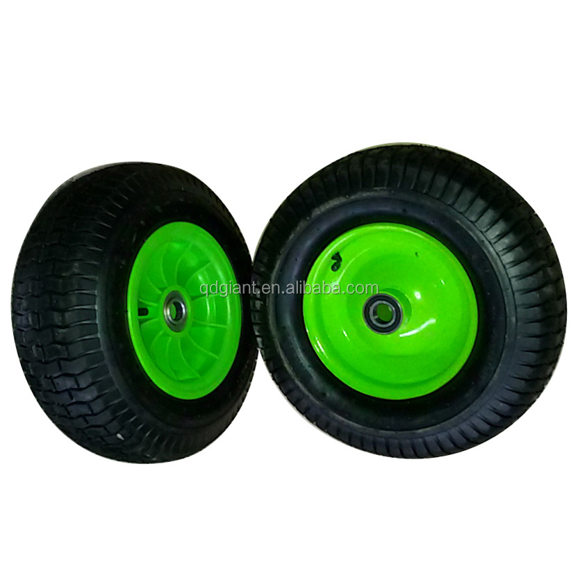 "beach cart tyre with metal rim16""x 6.50-8"