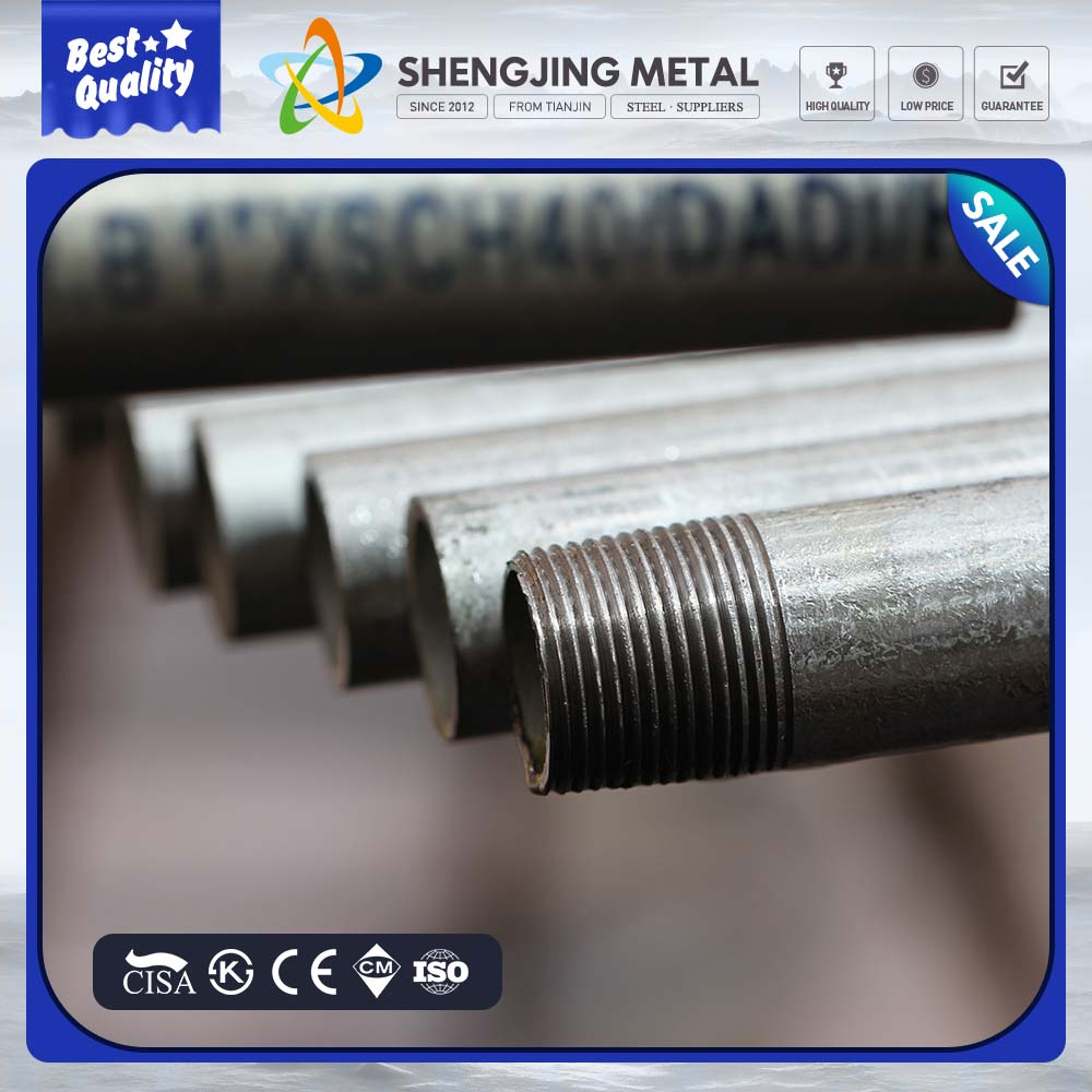 small quantity order pre-galvanized steel pipe penis long oil