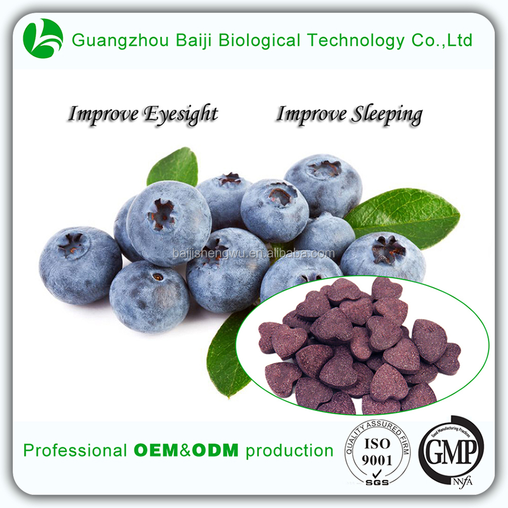 Daily Need Product Effective Herbal Medicine Weight Loss Blueberry Tablets