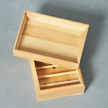 Household items bathroom accessories bamboo wooden soap dish holder