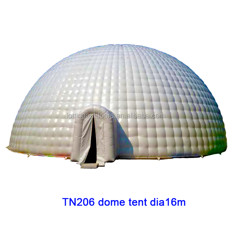 New Promo item used inflatable dome, Guangzhou inflatable igloo dome, Professional Supply inflatable dome