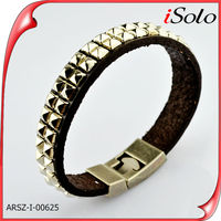 Alloy bangles leather charm innovative gift items alloy anchor bracelet charm