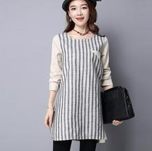 zm31759a women traditional stripe long skirt and blouse designs korean style long sleeve lady shirt