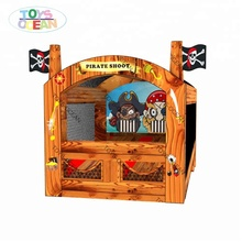 Inflatable Pirates Theme Bazooka Ball Zombie Shoot Out Shooting Gallery Carnival <strong>Games</strong>