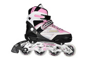 New safety design sport rollerblade. pink for girl inline skate for kid, rollerblade with ce wholesale