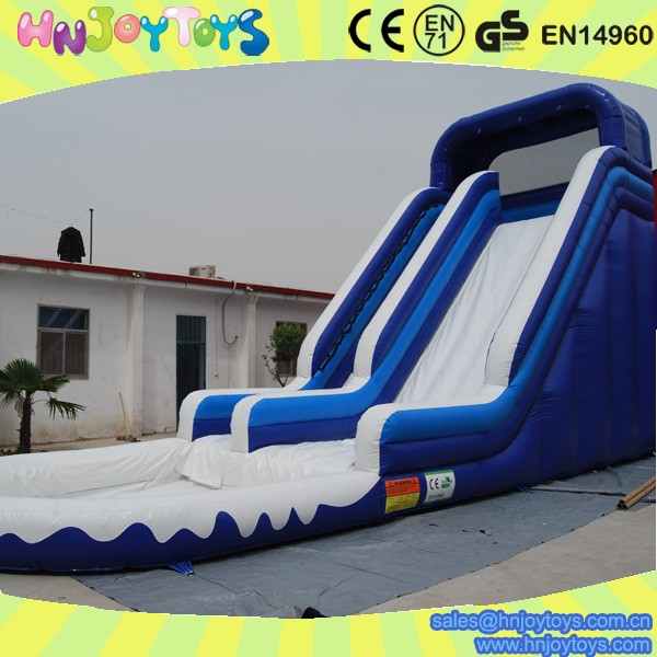 Inflatable Water Slides For Sale: Commercial Adult Inflatable Water Slide With Pool Big