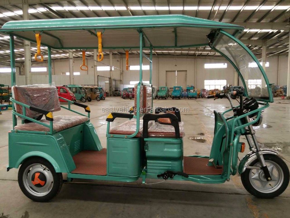sightseeing electric passenger bike taxi/bicycle taxi/electric rickshaw with cabin for sale