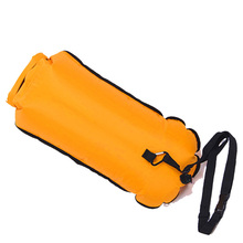 Inflatable Hiking Wading Waterproof Wheeled Ocean Pack Dry Swim Bag Light Buoy