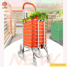 Hot selling Aluminum multi-function portable shopping cart