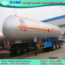 Good quality new arrival lpg transport semi-trailer vehicle