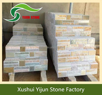 High Quality Chinese Natural Ledge Stone Stacked Stone Tiles