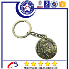 Personalized trolley coin keyrchain custom keyring with Logo