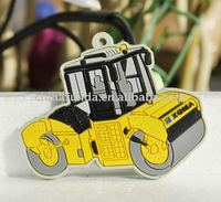Automotive PVC rubber Keyring /Custom 3D motorcycle rubber keychain