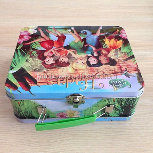 Cake boxes fancy wholesale oem product tin handle metal