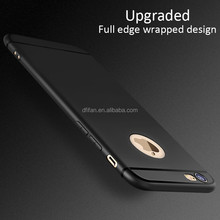 DFIFAN Phone Accessory Slim TPU Case for iphone 6 , best selling products 2017 Matte Black for iphone Apple 6s Case