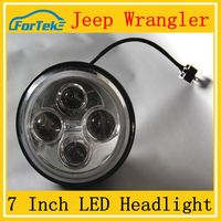Super bright off led headlight for jeep parts wrangler headlight jeep wrangler off road camper trailer for sale