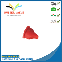 rubber multiport duckbill check valve
