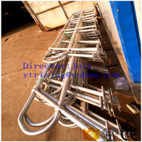 galvanized ball joint handrail for outdoor stairs