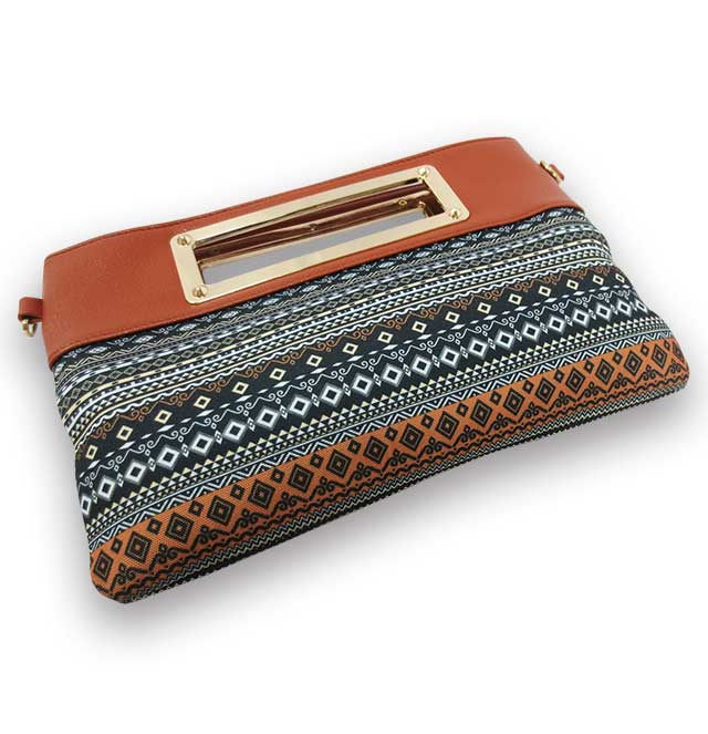 Nepal Canvas Crossbody Bag
