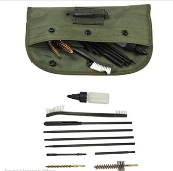 Funpowerland New 10pc Rifle Gun Cleaning Kit