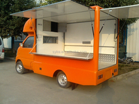 Petrol Manual Transmission Mini Truck Food Truck for Sale
