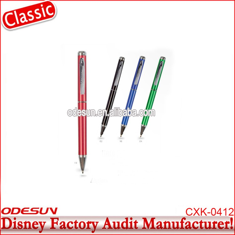 Disney Universal NBCU FAMA BSCI GSV Carrefour Factory Audit Manufacturer Plastic Pen Japanese Stationery Suppliers
