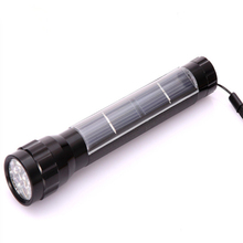 Rechargeable LED flashlight Solar energy LED Flashlight
