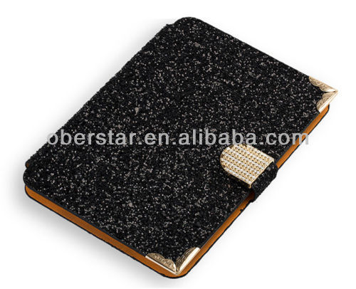 Rhinestone Diamond Bling Leather Case for iPad mini 2 With Retina