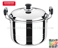 18 cm American style Cookware Double bottom stainless steel soup pot withbakelite handle