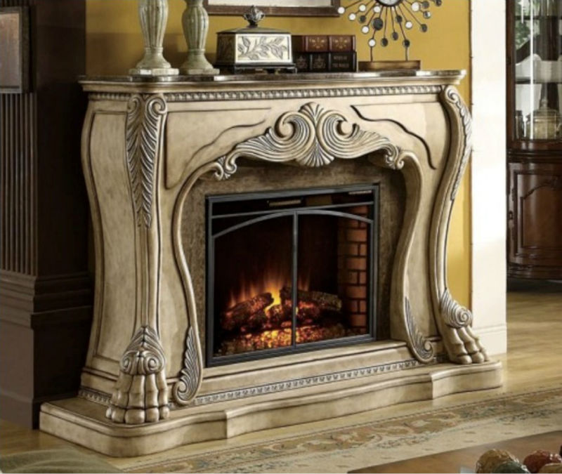 Bisini European Style Decorative Fake Flame Electric Fireplace (BF09-42013)
